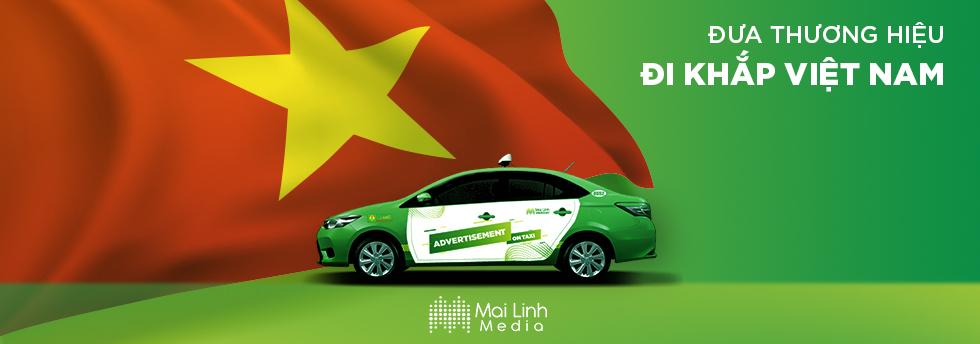 Vì Sao Nên Đặt Quảng Cáo Trên Xe Taxi Mai Linh?